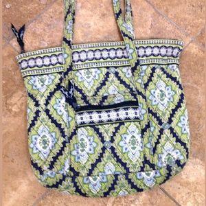 Vera Bradley Tote Handbag Shoulder Purse